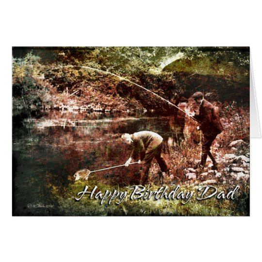 Vintage Fishing-BDD Card