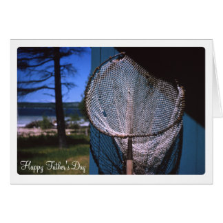 Vintage Fishing Net Greeting Card