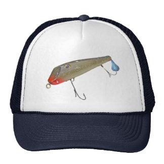 Vintage Fishmaster Jerry Sylvester Flaptail Lure Cap