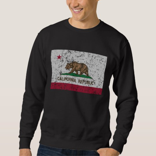 Vintage Flag of California State Sweatshirt