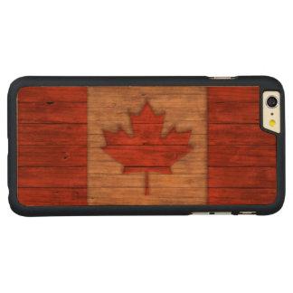 Vintage Flag of Canada Distressed iPhone 6 Plus Case