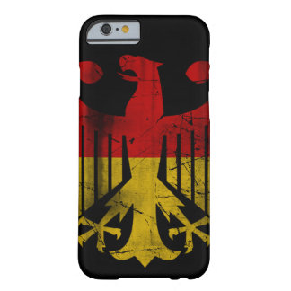 Vintage Flag of Germany Eagle Heritage Barely There iPhone 6 Case