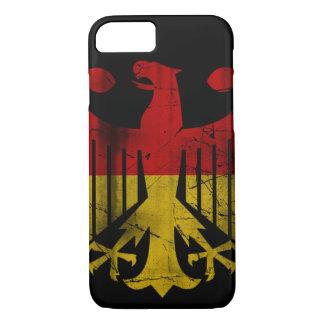 Vintage Flag of Germany Eagle Heritage iPhone 7 Case