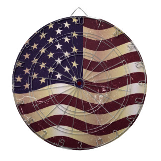 Vintage Flag United States 2 Dartboard
