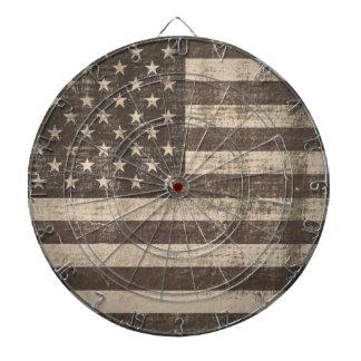 Vintage Flag United States Dart Board