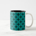 Vintage Flair Mug, Teal