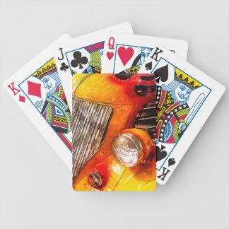 Vintage flame Hot Rod Poker Deck
