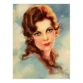Vintage Flapper 24 Postcard