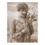 Vintage Flapper Photograph (150) Postcard