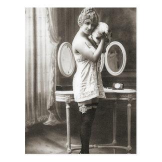 Vintage Flapper Photograph (188) Postcard