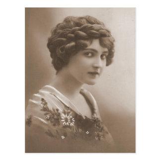 Vintage Flapper Photograph (23) Postcard