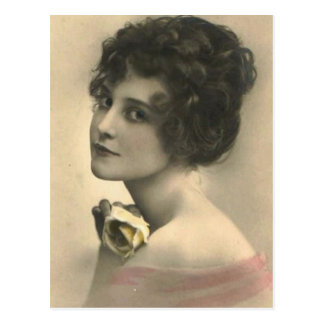Vintage Flapper Photographs (5) Postcard