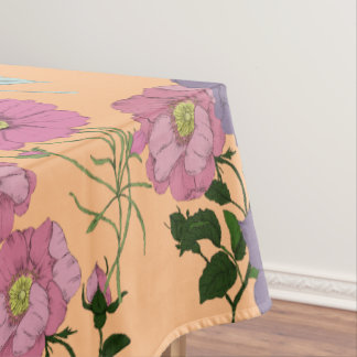 Vintage Flora Tablecloth
