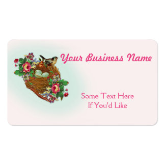 Vintage Floral All Purpose Business Card