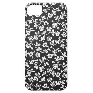 Vintage Floral B&W iPhone SE/5/5S Barely There Cas Barely There iPhone 5 Case