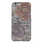 Vintage Floral Barely There iPhone 6 Case