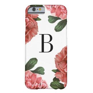 Vintage Floral Botanical | Monogram Phone Case
