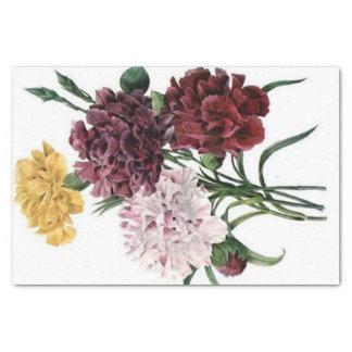 Vintage Floral Bouquet Tissue Paper