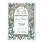 Vintage Floral Bridal Shower Invitations I