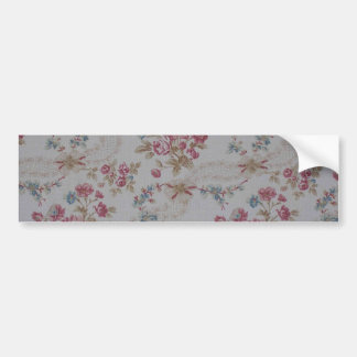 Vintage Floral Bumper Stickers