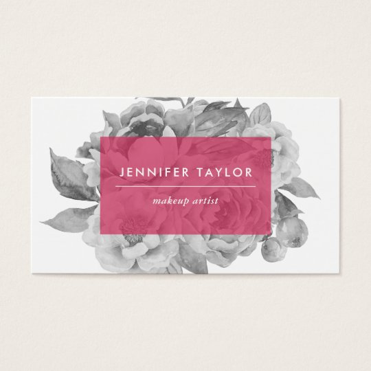 Vintage Floral Business Cards | Berry