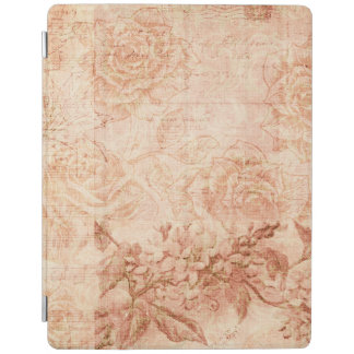 Vintage Floral Collage iPad Cover