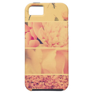 Vintage floral collage photos of loveliness style iPhone 5 cases
