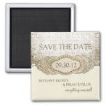 Vintage Floral Collection Save the Date Magnet
