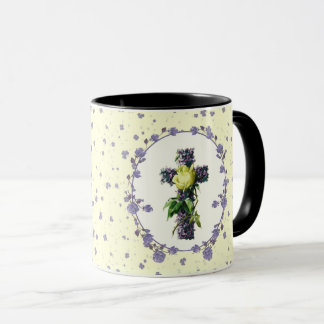 Religious easter coffee travel mugs zazzle vintage floral cross easter gift mugs negle Gallery