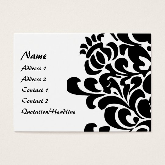 Vintage Floral - Customised Business Card