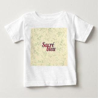 Vintage Floral Dark Cross Sacre Bleu French Funny Infant T-Shirt