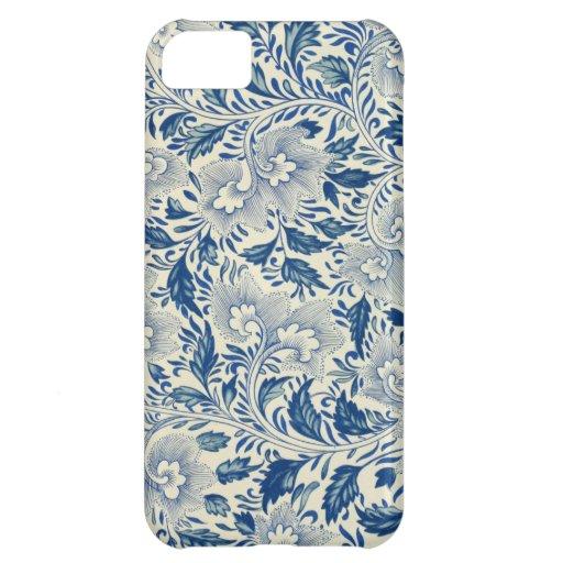 Vintage Floral Design Case For iPhone 5C