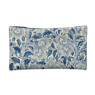 Vintage Floral Design Makeup Bags