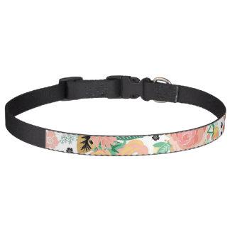 Vintage Floral Dog Collar
