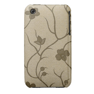Vintage Floral Fabric (11) iPhone 3 Cases