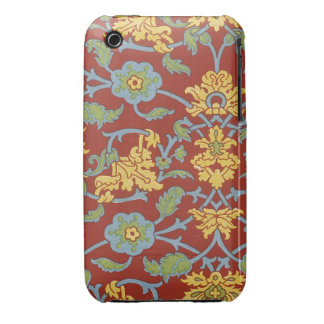 Vintage Floral Fabric (15) iPhone 3 Cover