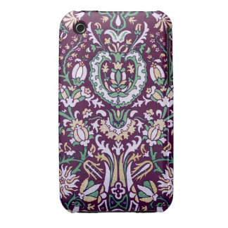 Vintage Floral Fabric (18) iPhone 3 Case-Mate Cases