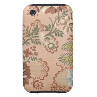 Vintage Floral Fabric (2) Tough iPhone 3 Cover