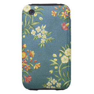 Vintage Floral Fabric (8) iPhone 3 Tough Case