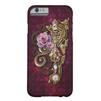 Vintage Floral Girly Jeweled Steampunk Barely There iPhone 6 Case
