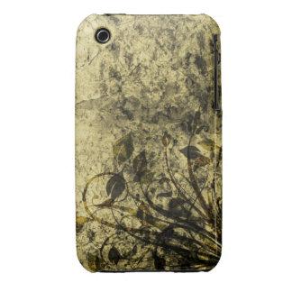 Vintage Floral Grunge Design Blackberry Curve case