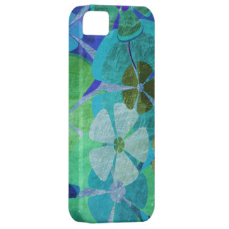 Vintage floral grunge graphic iPhone 5 covers