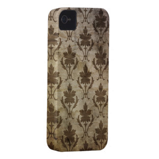 Vintage Floral Grunge Wallpaper iPhone 4s Case iPhone 4 Cover
