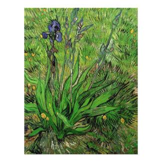 Vintage floral Iris by Vincent van Gogh Full Color Flyer