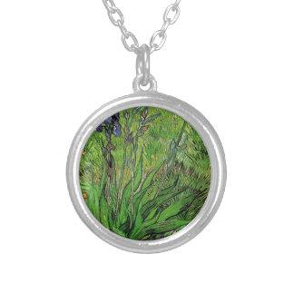 Vintage floral,, Iris by Vincent van Gogh Jewelry