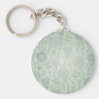 Vintage Floral Keychain