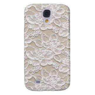 Vintage Floral Lace Galaxy S4 Case