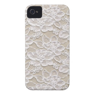 Vintage Floral Lace iPhone 4 Case-Mate Case