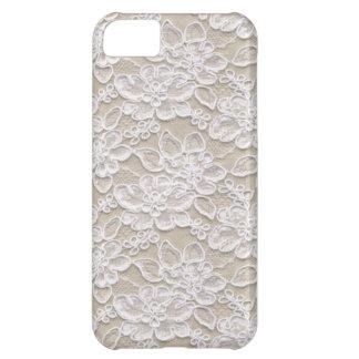 Vintage Floral Lace iPhone 5C Case