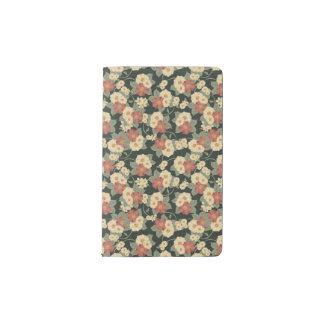 Vintage Floral Moleskine Notebook Cover